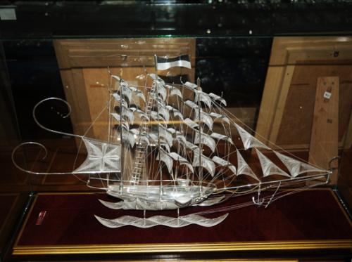 Indonesia Yogyakarta Silver Ship