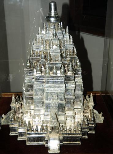 Indonesia Yogyakarta Silver Temple