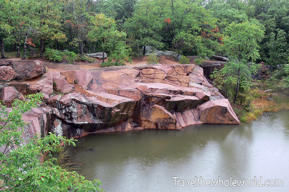 Missouri Elephant Rocks Quarry Pond