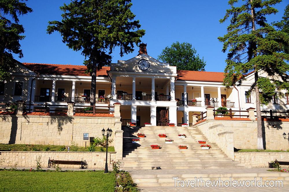 Moldova Capriana Monastery House