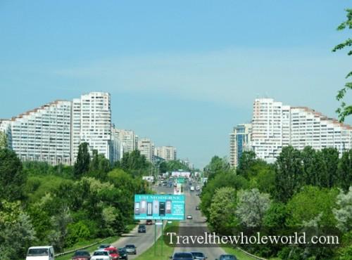 Moldova Gates of Chisinau