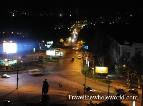 Moldova Chisinau Night