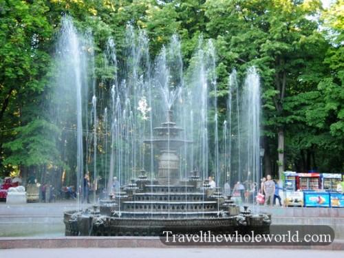 Moldova Chisniau Fountain