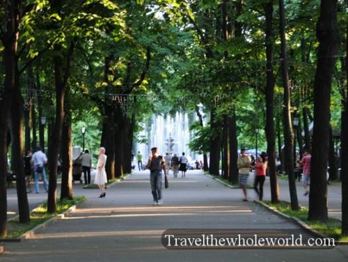 Moldova Chisniau City Park