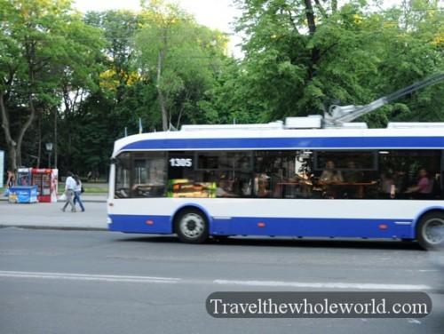 Moldova Chisniau Trolley