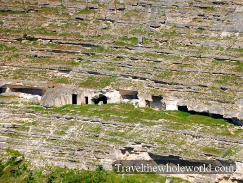 Moldova Orheiul Vechi Monastery Caves