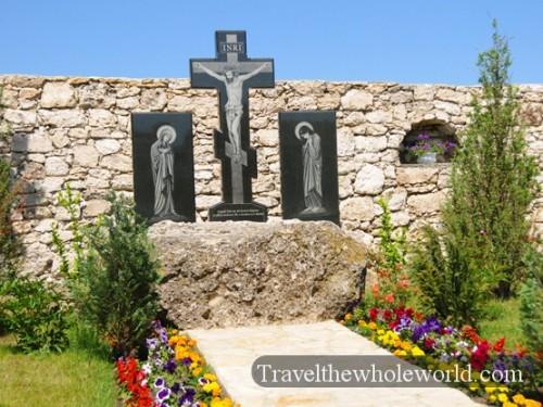 Moldova Orheiul Vechi Monastery