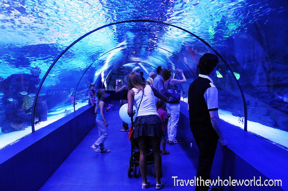 Turkey Antalya Aquarium Tunnel