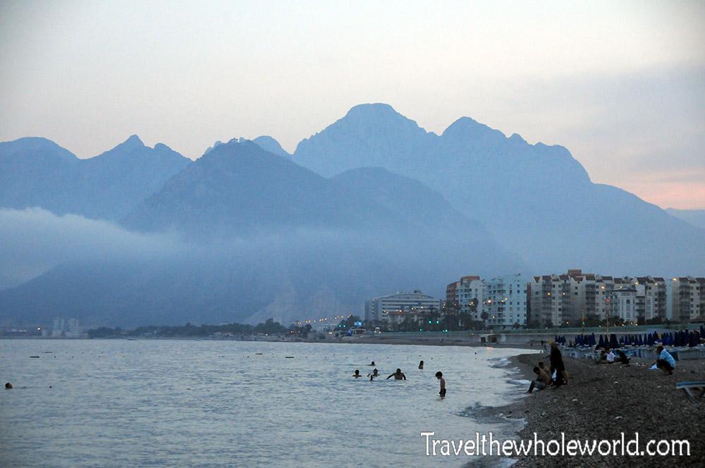 Turkey Antalya Beach