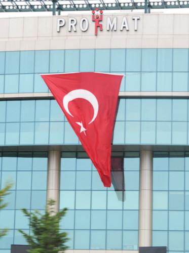 Turkey Istanbul Flag
