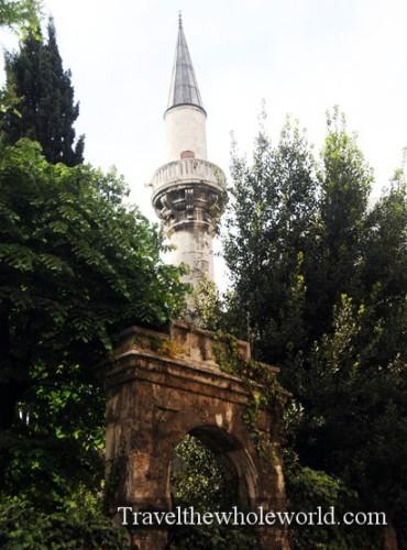 Turkey Istanbul Minaret
