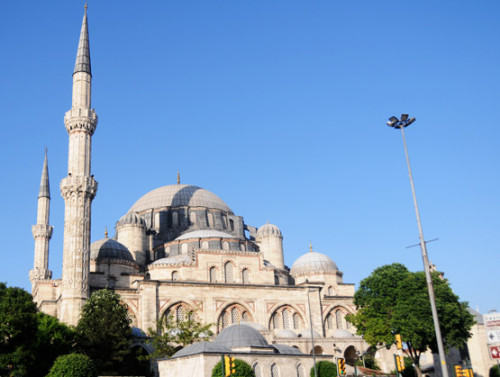 Turkey Istanbul Mosque Big