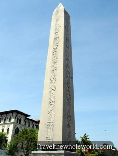 Turkey Istanbul Obelisk