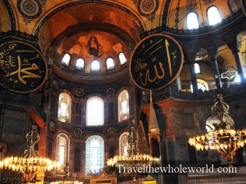 Turkey Hagia Sophia Inside