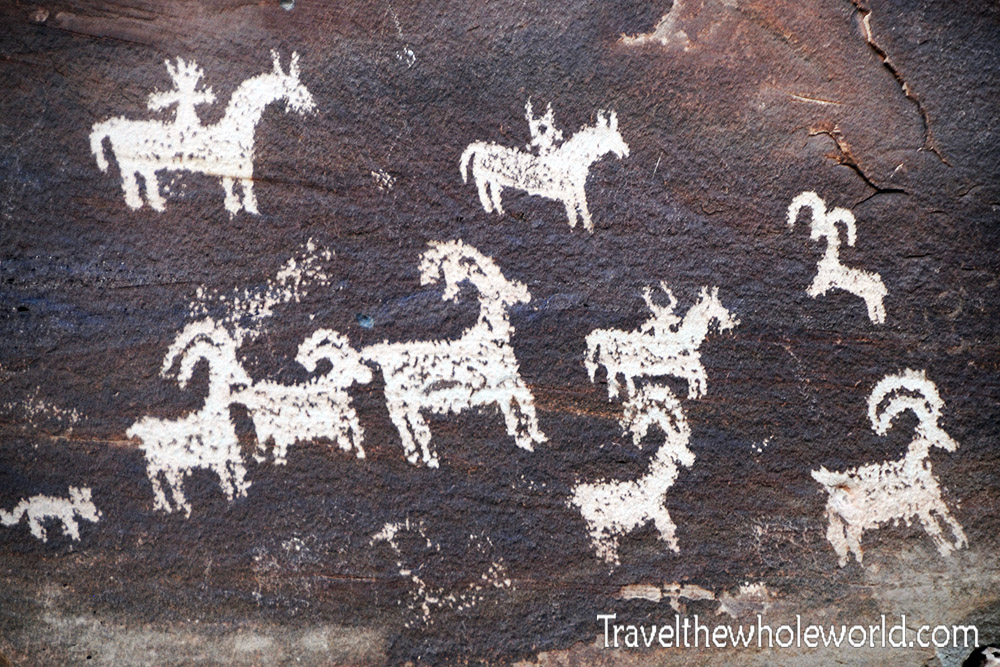 Utah Arches Petroglyphs