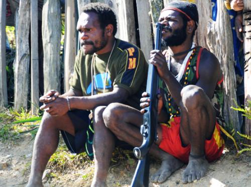 West Papua Sugapa Gun