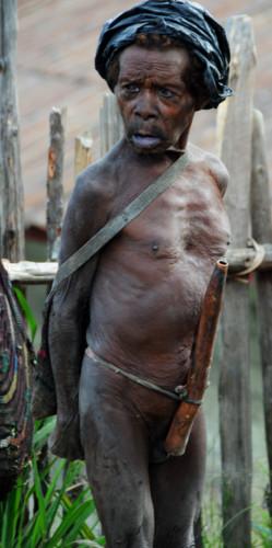 West Papua Sugapa Penis Gourd
