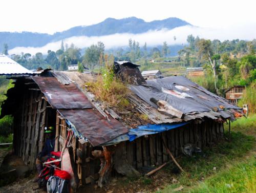 West Papua Sugapa Village
