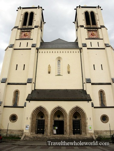 Austria Salzburg St Andrew's Church