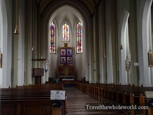 Austria Salzburg St Andrew's Church Inside
