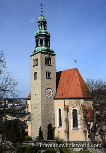 Austria Salzburg Mülln Parish Church