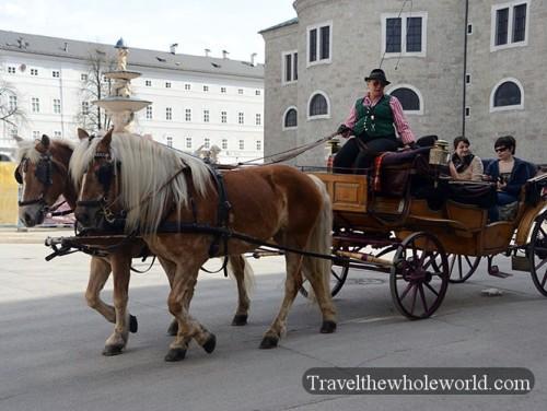 Austria Salzburg Horses & Carriage