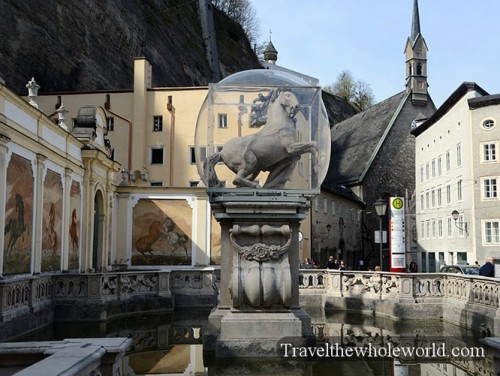 Salzburg Horse Tamer Pferdeschwemme