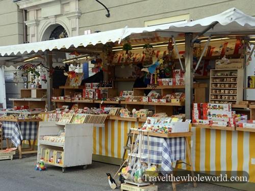 Austria Salzburg Market Toys