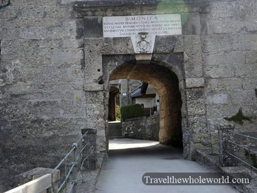 Austria Salzburg Müllner Schanze Fortress