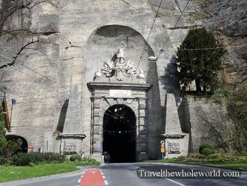 Salzburg Sigmundstor Sigmund's Gate