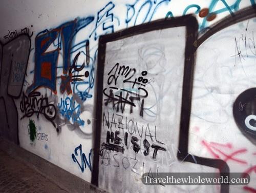 Austria Salzburg Graffiti
