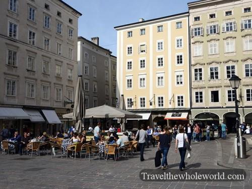 Austria Salzburg Square