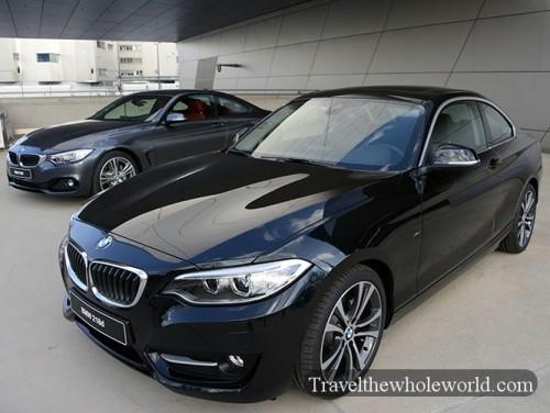 Germany Munich BMWs