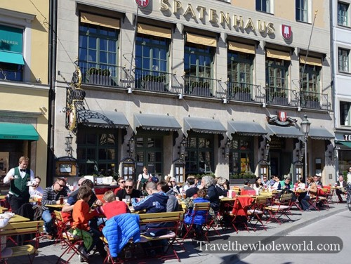 Germany Munich Cafe