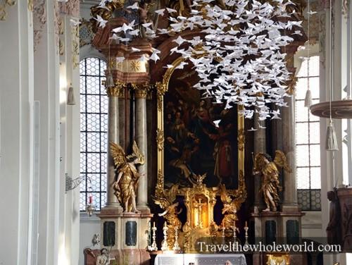 Germany Munich Heiliggeistkirche Church Inside