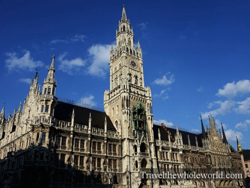 Germany Munich New City Hall