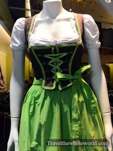 Traditional German Women's Clothing