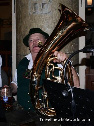 Munich Hofbrauhaus Musician