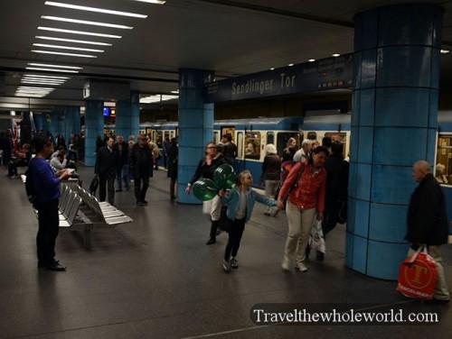 Munich Subway Station