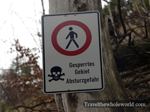 Germany Neuschwanstein Castle Hiking Danger
