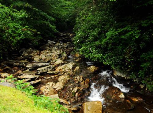 Tennesee Smoky Mountains Creek