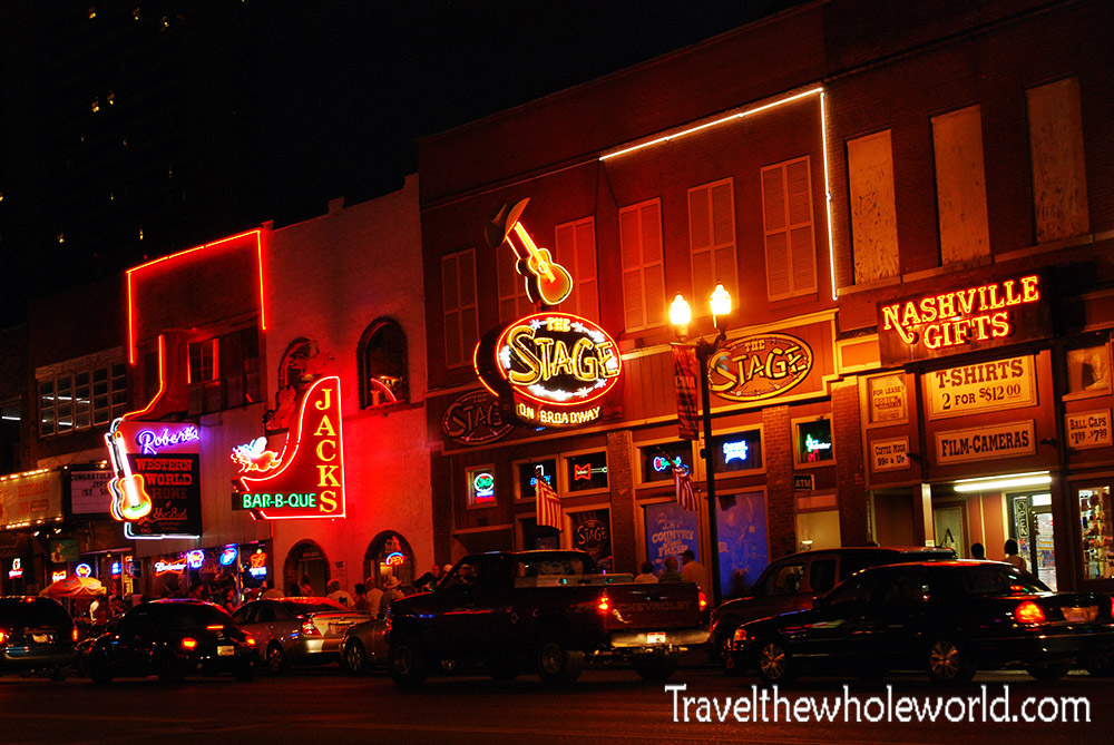 Traveling In Nashville Tennessee