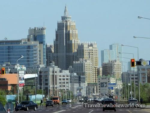 Kazakhstan Astana Downtown
