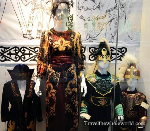Kazakhstan Astana Khan Shatyr Clothing