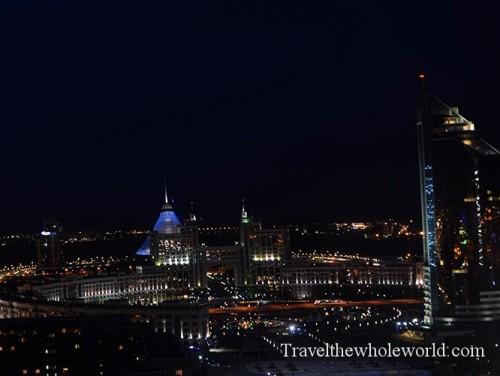 Kazakhstan Astana Night