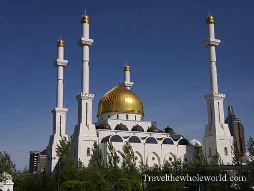 Kazakhstan Astana Nur Central Mosque