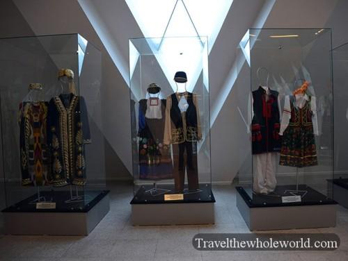 Kazakhstan Astana Palace Of Peace Ethnic Clothing