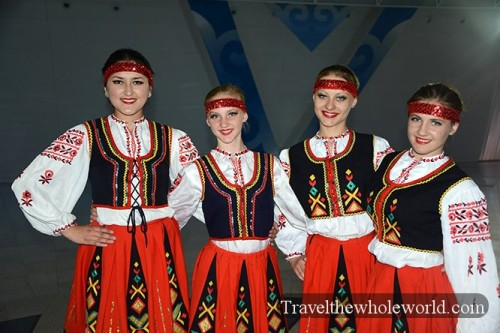 Astana Palace Of Peace Dancers