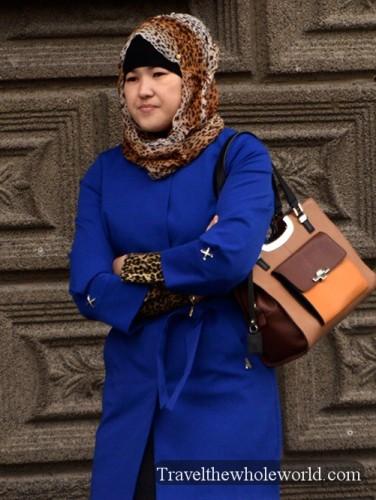 Kazakh Astana Woman