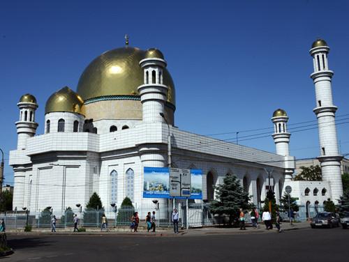 Kazakhstan Almaty Central Mosque